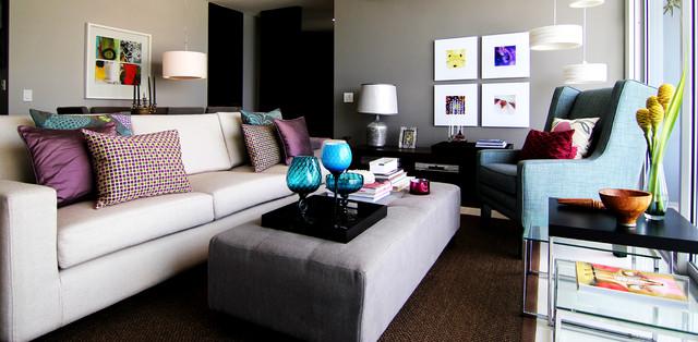 The Bahía Loft modern-living-room
