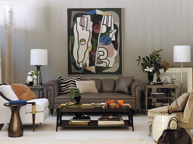 baker furniture contemporary living room by baker furniture
