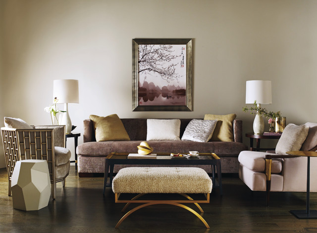 Exceptionnel The Barbara Barry Collection   Baker Furniture Modern Living Room