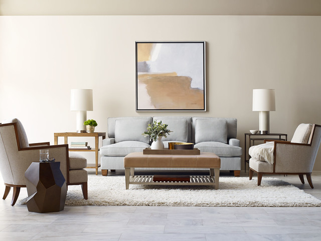 The Barbara Barry Collection Living Room Transitional