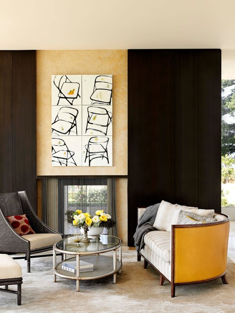 The Barbara Barry Collection: Re-Envisioned modern-living-room