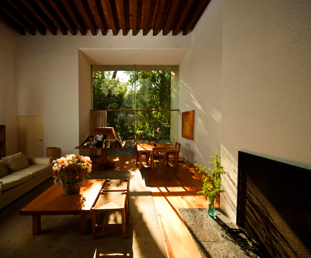 The Barragn House Modern Living Room Mexico City