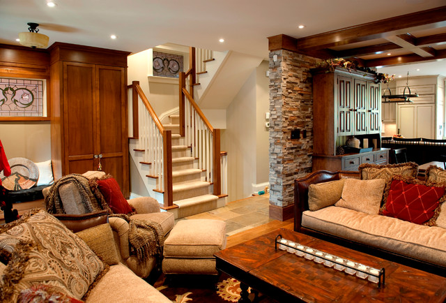 The beach award winning traditional living room toronto by bette jane jelly design for Award winning living room designs