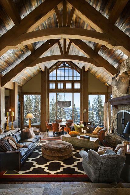 The Bear Trap Interior contemporary-living-room