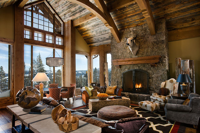 The Bear Trap Interior contemporary-living-room