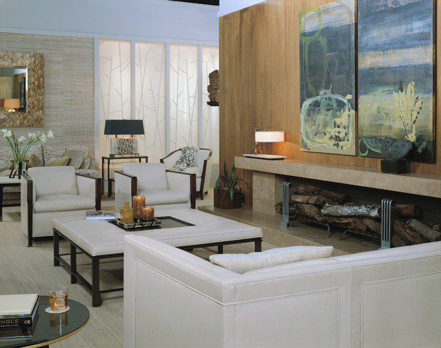The Bill Sofield Collection - Baker Furniture modern-living-room