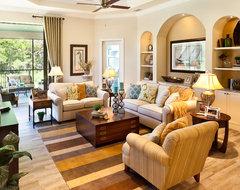 The Caaren traditional-living-room