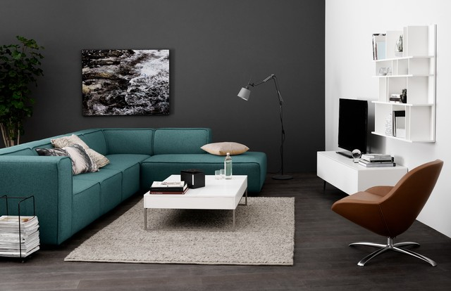 Beau Inspiration For A Contemporary Living Room Remodel In London