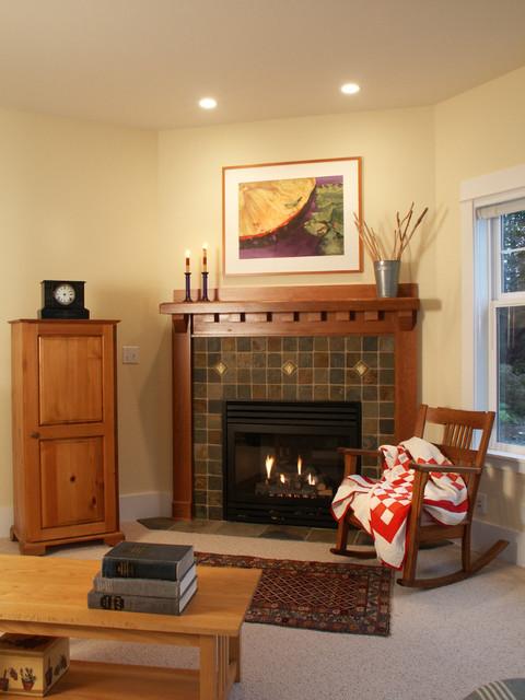 The Cherry craftsman-living-room