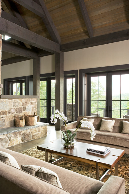 the cliffs at mountain park augusta links trail ii oxford family house transitional living room