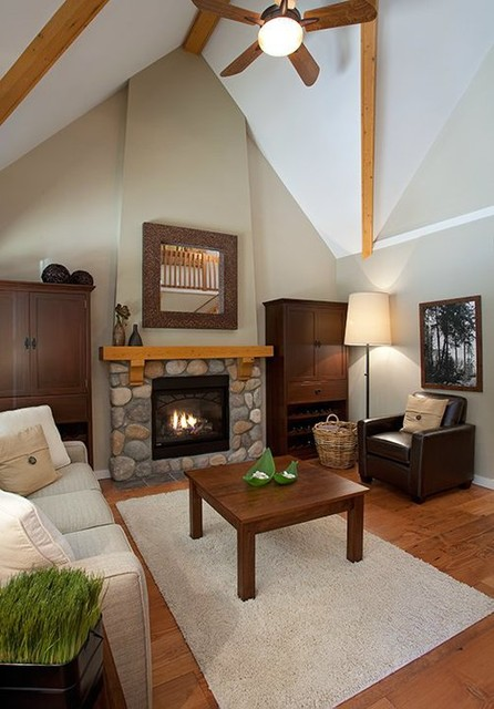 The Cottages at Cultus Lake traditional-living-room