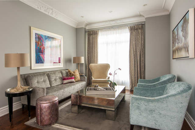 The Designers transitional-living-room
