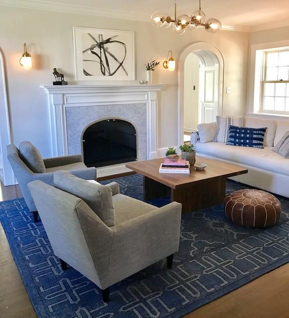 The Fairway modern-living-room