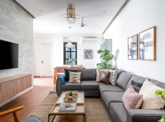 Houzz Tour: A New Flat is Given an Elegant, Space-smart Makeover