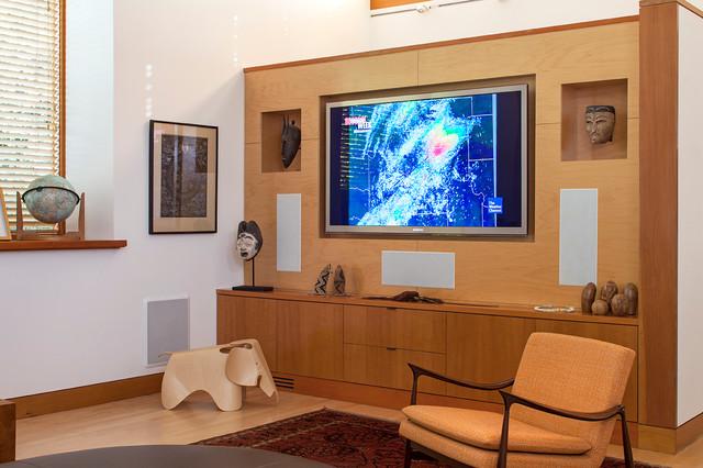 The Fuller Residence contemporary-living-room