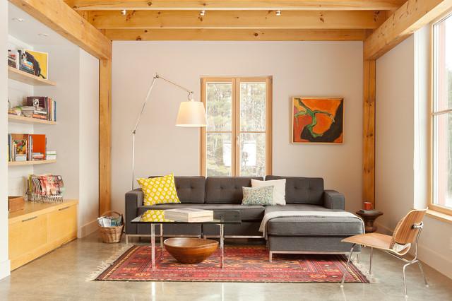 The Living Room Portland : The GO Home Passive House - Contemporary - Living Room ...