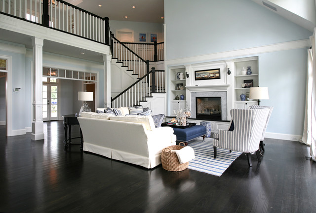 The hampton victorian living room other metro by for Hamptons living room designs