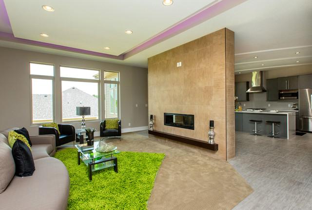 The Harrow contemporary-living-room