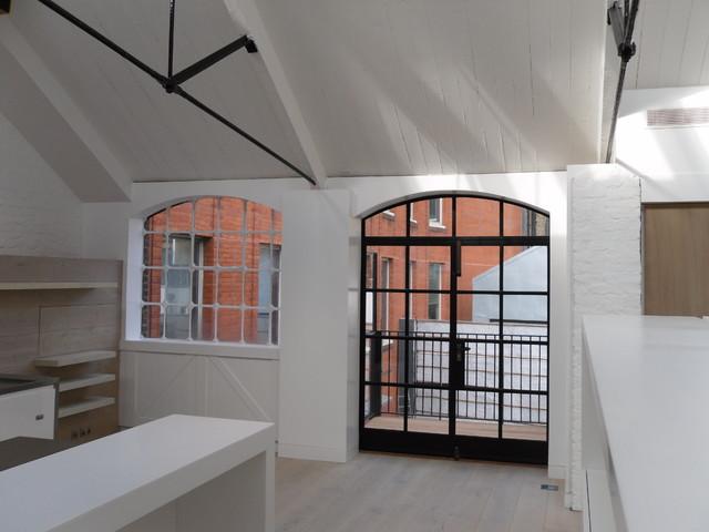 The Hat Factory Soho London Contemporary Living Room London