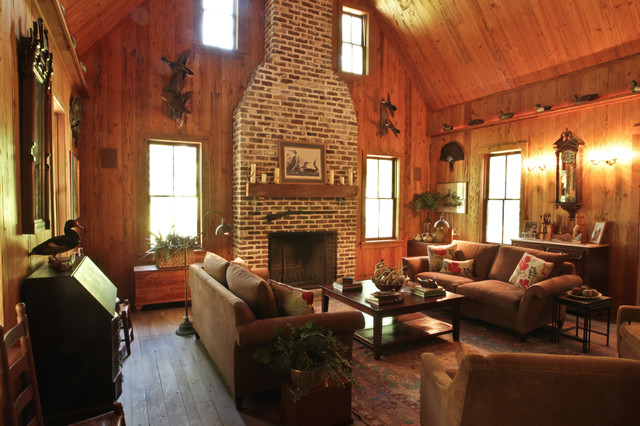 The Hunting Life Rustic Living Room Charleston By