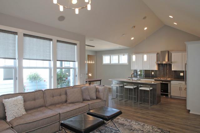 the johnston contemporary living room cedar rapids
