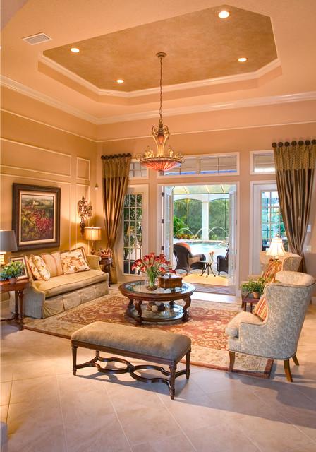 The Kiah by John Cannon Homes mediterranean-living-room
