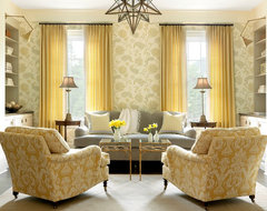 The Ladue House eclectic family room