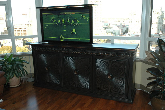 The Maximus - Asian - Living Room - New York - by TV Lift Cabinet by Cabinet Tronix