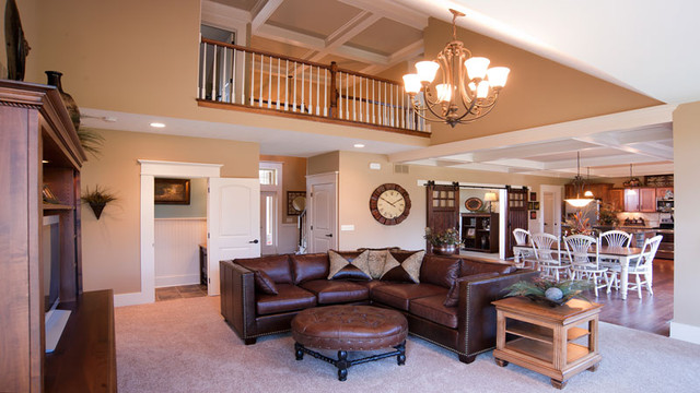 The Meadows ~ Wooster, OH traditional-living-room