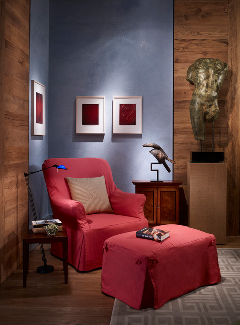 The Merchandise Mart Dream Home eclectic-living-room