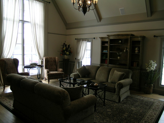 The Millstone in Morningside by Wagner Homes traditional-living-room