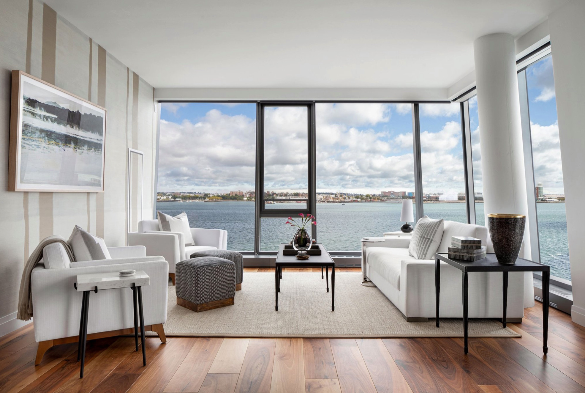 The Models At Pier 4. Luxury Waterfront Condominiums