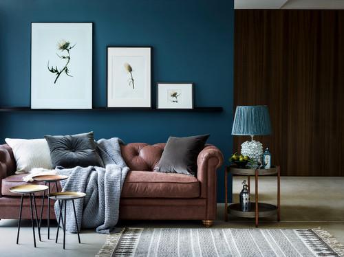 Consigli di stile per abbinare il divano alla parete for Parete attrezzata con divano