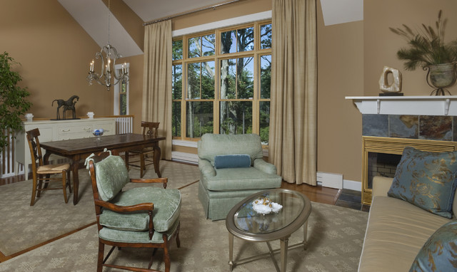 The perfect living room living room by terri reilly design - Perfect living room layout ...