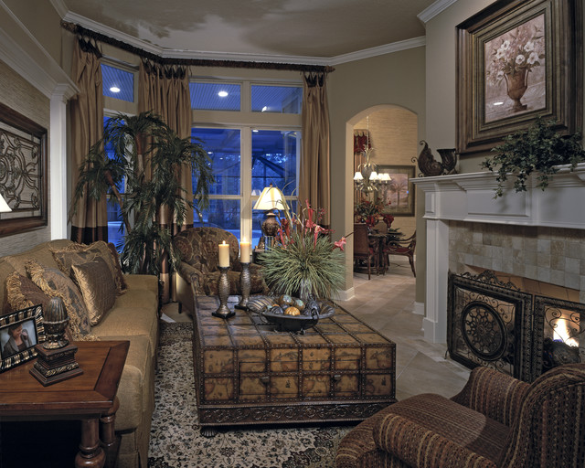 The Phoenix traditional-living-room