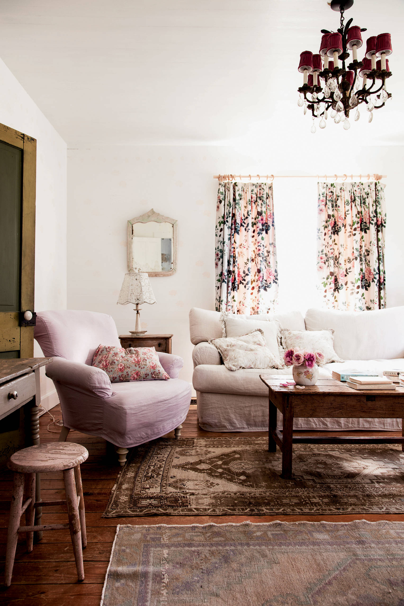 Floral Curtains Houzz