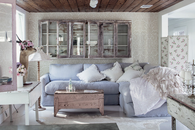 Shabby Chic Style Living Room By Amy Neunsinger