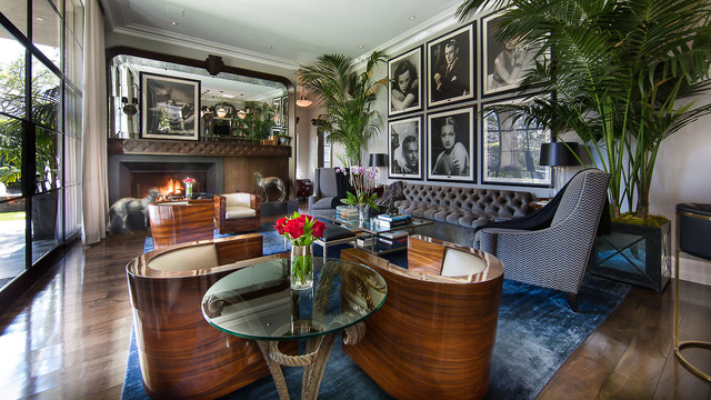 Get Some Great Gatsby Glamour With Art Deco Living Room Styling Houzz Ie