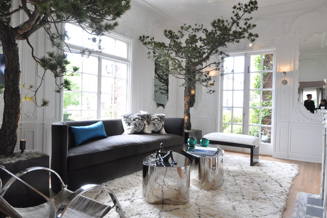 Contemporary Living Room By Janet Paik Part 24