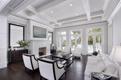Coffered ceiling or beams