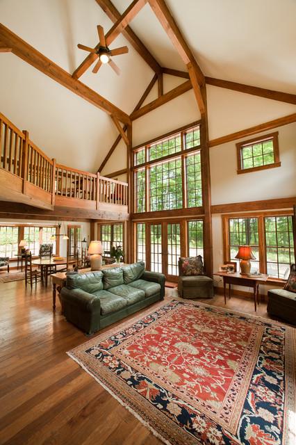 The Sawyer Post And Beam Barn Home Traditional Living