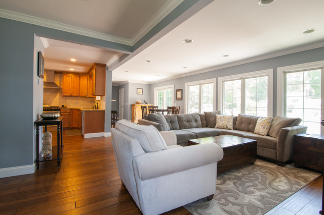 The Serene House Traditional Living Room Other by
