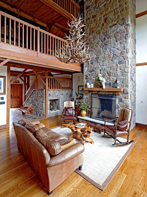 The Somerset Post And Beam Barn Home Rustic Living