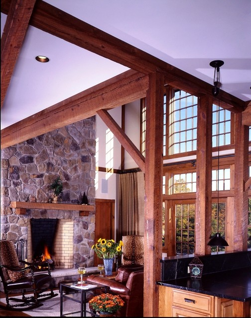 The Somerset Post And Beam Barn Home Traditional
