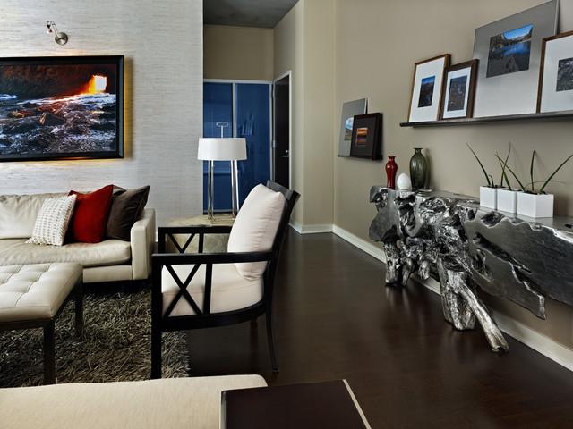 The spire in denver contemporary living room denver for The family room denver