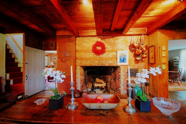 The Temperance Tavern - Gilmanton, NH rustic-living-room