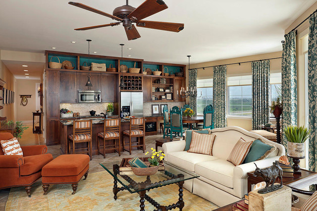 The texas hill country comes to the coast beach style for Texas themed living room