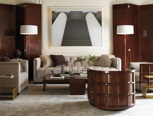 Exceptionnel The Thomas Pheasant Collection   Baker Furniture Modern Living Room