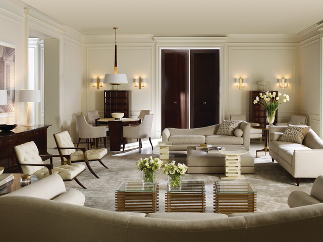 the thomas pheasant collection contemporary living room