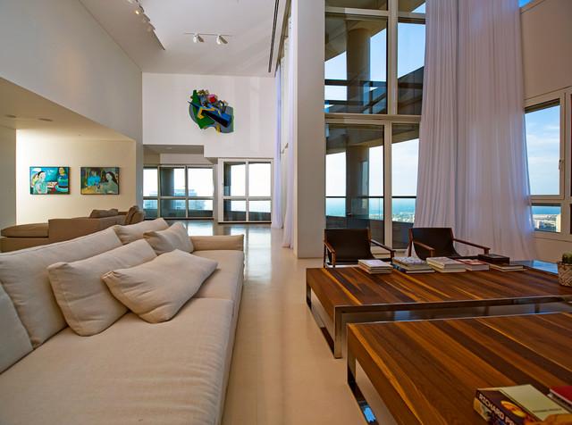 The U project - Tel-Aniv contemporary-living-room